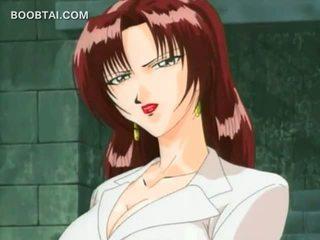 Seks prisoner anime meisje gets poesje rubbed in undies