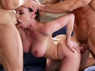 Kendra lust di sebuah gambar/video porno vulgar seks tiga orang, gratis porno 90