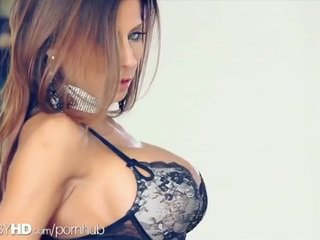 brunette, kut, grote borsten