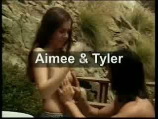 Aimee Tyler enjoys the great outdoor