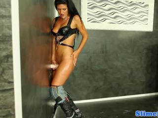 Air mani covered euro menunggangi lubang di tembok titit, porno 02