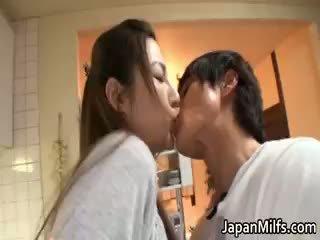japán, érett, milf