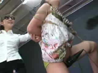 Ayumi gets ràng buộc và tortured
