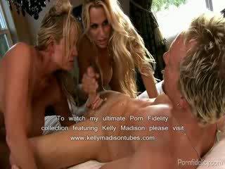 Holly halston tied gagged และ ระยำ โดย นมโต เพื่อน kelly madison