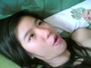 Gadis stim [video] awek kelantan basah