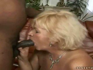 Horny guy fucks naughty old bitch