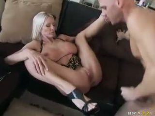 Momma Emma Starr is boned deep in her twat she cannot stop moaning for pleasure