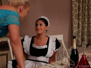 Young mistress and her maid