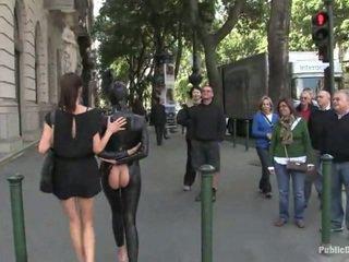 sexo em público, látex, escravidão sexual