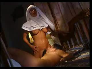 Italian Nun Sucks And Fucks Sick Man
