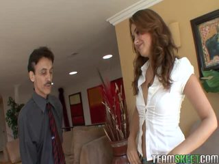 Cute Brunette Babe Allie Haze Gets Fucked By Her Instructor