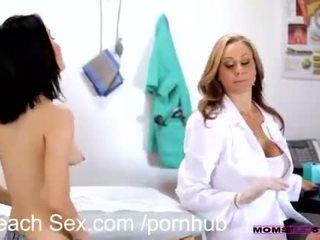Teen fulfills his older woman fantasy in hot threesome