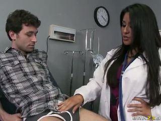 Μεγάλος κώλος γιατρός jenaveve jolie wants να gets πατήσαμε σκληρά βίντεο