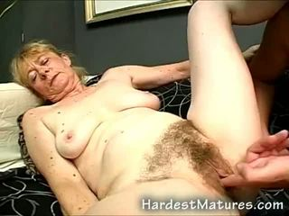 mamie, pipe, mature
