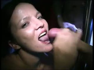 blowjobs, cum in mouth, brunettes