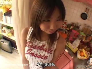 Krūtinga tan japoniškas mokinukė didelis breast complex subtitles