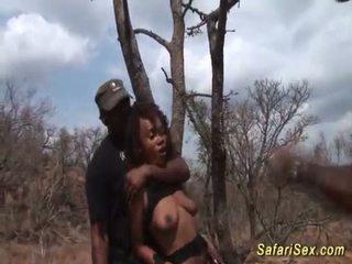 deepthroat, africký, veľký penis
