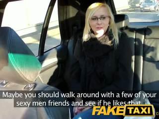 Faketaxi sexy tineri blonda în payback razbunare