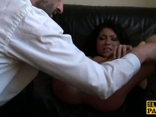Rowdy uk sub disciplined con un duro joder: gratis hd porno 15