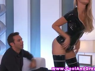 Jessica drake latex fun with her horny stud