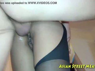 Aziatisch girlette does anaal voor liefde geld en gezondheid