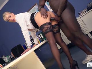 blondīnes, interracial, hd porno