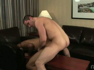 Darksome Lad Riding A White Dong