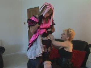 cumshots, brittiläinen, femdom