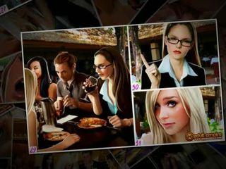 Nicole heat - the dasëm gang-bang