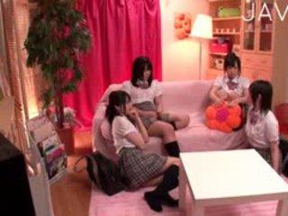 japonisht, lodra, group sex