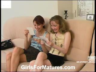 Leila và jennifer nóng đồng tính nữ