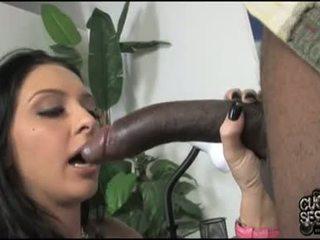 Stephanie kane बेब है अडॉरेबल darksome meat में मुंह