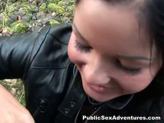 Black Haired In Spicy Public Porno