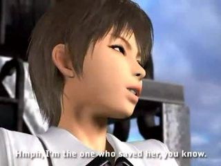 Umemaro 3d vampier vs. kung fu meisje