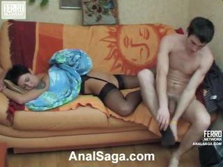 Mia en vitas geil anaal video-