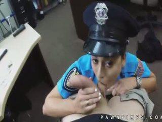 Wild real pawnshop hidden camera footage