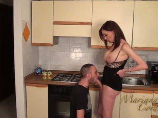 Mariana cordoba гаряча в the кухня
