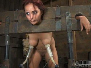 Niewolnik gets ardous chłosta