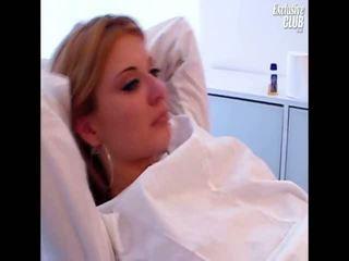 Molly gyno provim taco pasqyrë kirurgjie examination nga e moshuar jashtë norme doktori