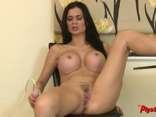 Jasmine Jae Gets Naked and Masturbates to a Real Orgasm