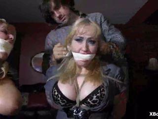 Mežonīga nerātnas pārsteidzošās fetišs verdzība lomu spēle