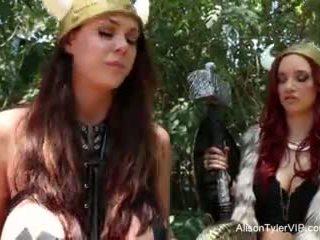 Alison tyler viking lésbicas