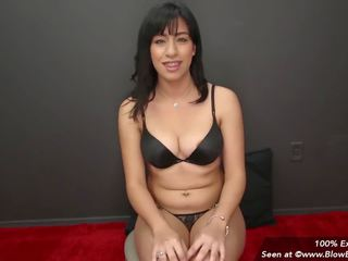 Latina with Braces Blowbangs for Messy Facials