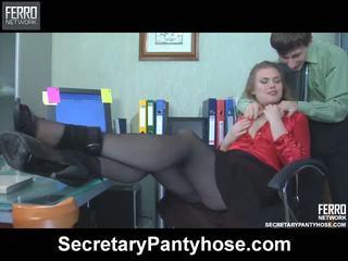 Alana charley секретар чорапогащник филм