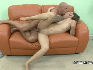 Asian slut Kita Zen gets her twat filled with a cock