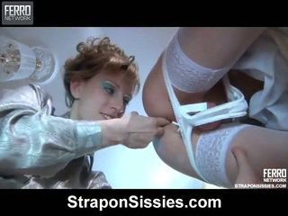 Mix Of Strapon Sex Movs From Strapon Sissies