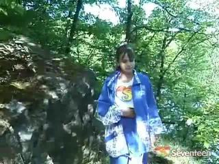 Giant Boobed Legal Age Teenagerager Outdoors