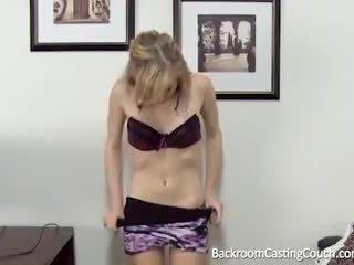 Barely legal anal & corrida interna casting