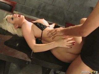 Lovely Blonde Babe Jazy Berlin Engulfing Biggest Dick