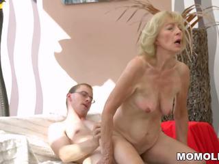 Caliente abuelita creampied: gratis lusty grandmas hd porno vídeo b8